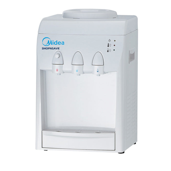 Midea MYL31T Hot Cold Ambien Filtered Water Dispenser with 4 Korea Water Purifier, Counter-Top - SHOP N' SAVE effortless Shopping!