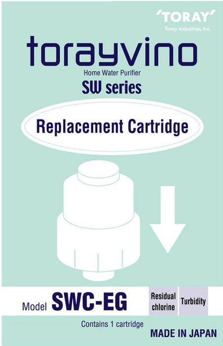 Toray Swc-eg replacement cartridge for orayvino SW5-EG Counter Top Water Purifier System - SHOP N' SAVE effortless Shopping!