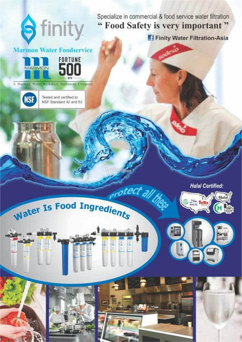 Finity MOD1-ICE 12C , Food Services Restaurant Halal Commercial Water Filters System *For Commercial Use only! - SHOP N' SAVE effortless Shopping!
