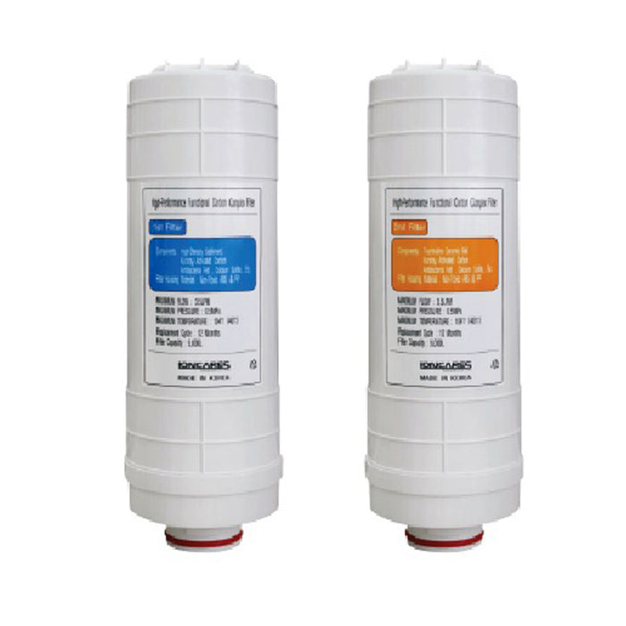 Filters 1 & 2 for Luxury Ioncares Premium Alkaline Water Ionizer - SHOP N' SAVE effortless Shopping!