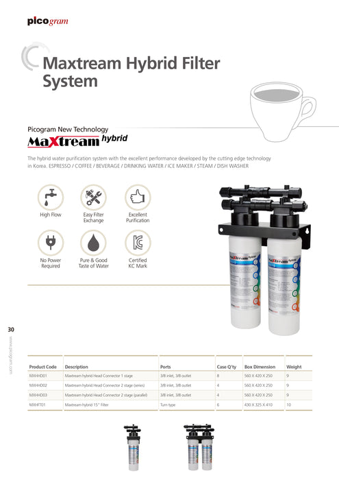 Picogram Pureal Commercial System(Maxtream hybrid) Water Purifier (Pre-Order) - SHOP N' SAVE effortless Shopping!