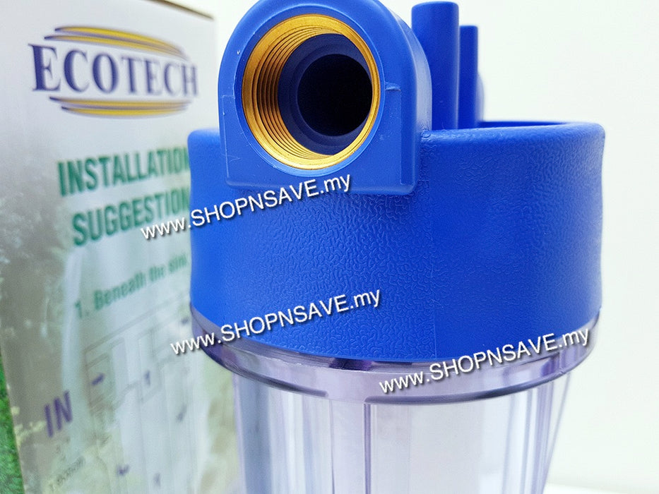 ECOTECH POE, point of entry water filters, whole house filtration system, water filter - SHOP N' SAVE effortless Shopping!