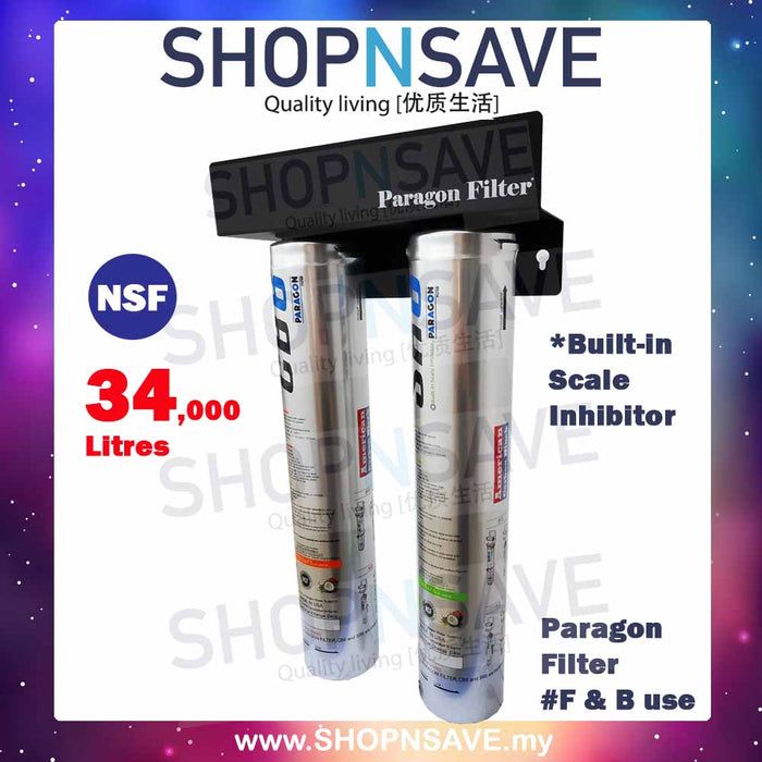 Paragon Filters High Capacity under counter/counter-top system Ideal for *Commercial Use - SHOP N' SAVE effortless Shopping!