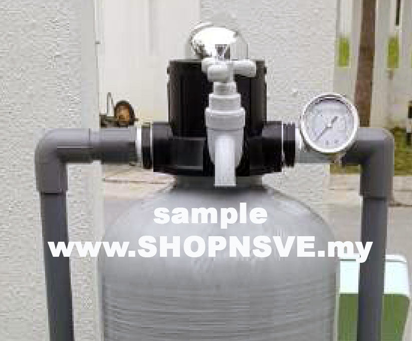 MPV manual valve 56A, manual valve for FRP vessel outdoor master filter