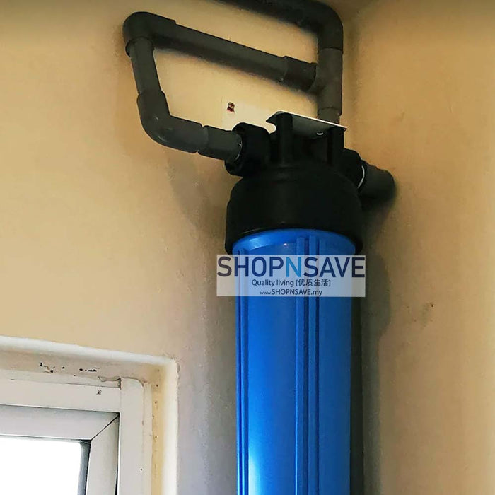 SNS1000 PP Pleated Whole House Filtration System, 0.45 micron rating pleated pp - SHOP N' SAVE effortless Shopping!