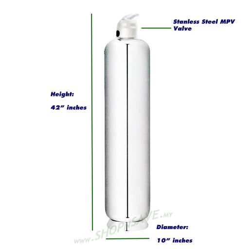1050S Outdoor Water Filter, Outdoor Filtration Water System, Full Body Stainless Steel - SHOP N' SAVE effortless Shopping!