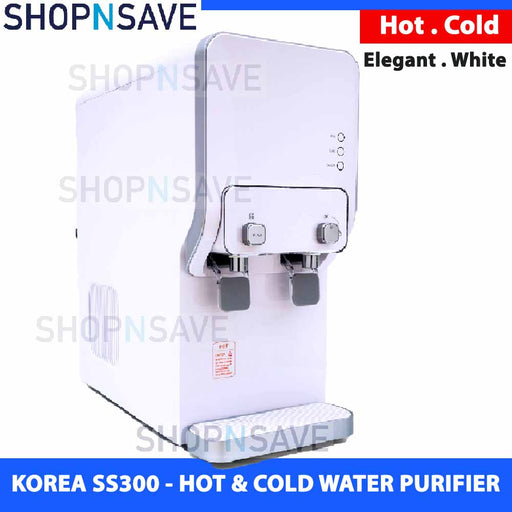 SS300 KOREA HOT & COLD WATER PURIFIER, ULTRA-FINE FILTERED WATER DISPENSER