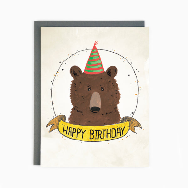 Birthday Bear Card