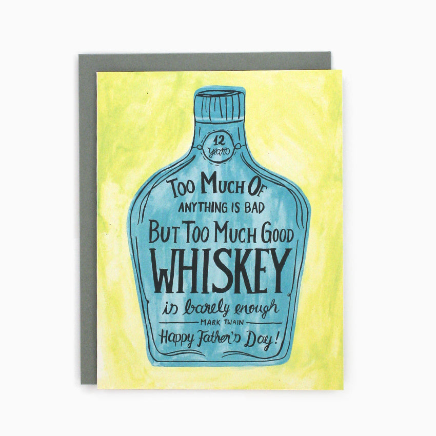 Dad Whiskey Card