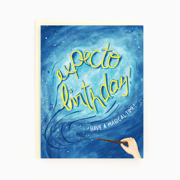 Expecto Birthday Card