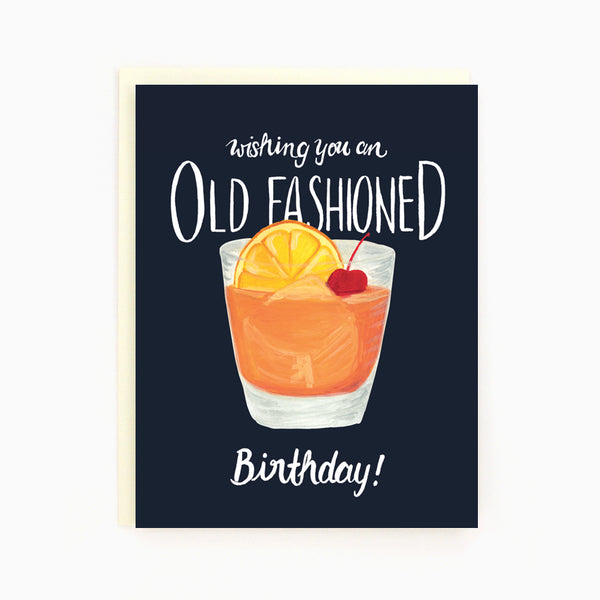 Birthday Old Fashioned
