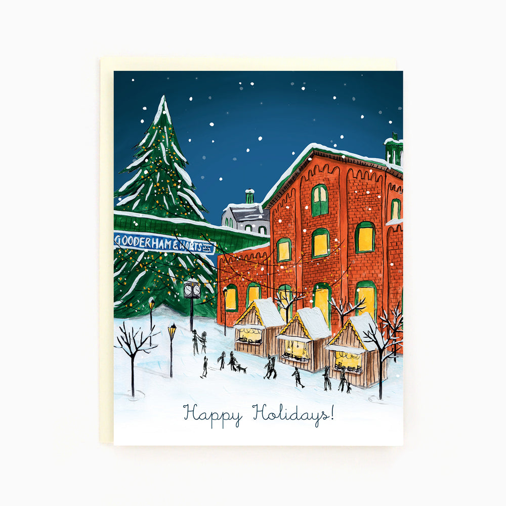 Toronto Distillery District Holiday Greeting Card