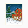 Assorted Box of 8 'Toronto-themed Holiday' greeting cards