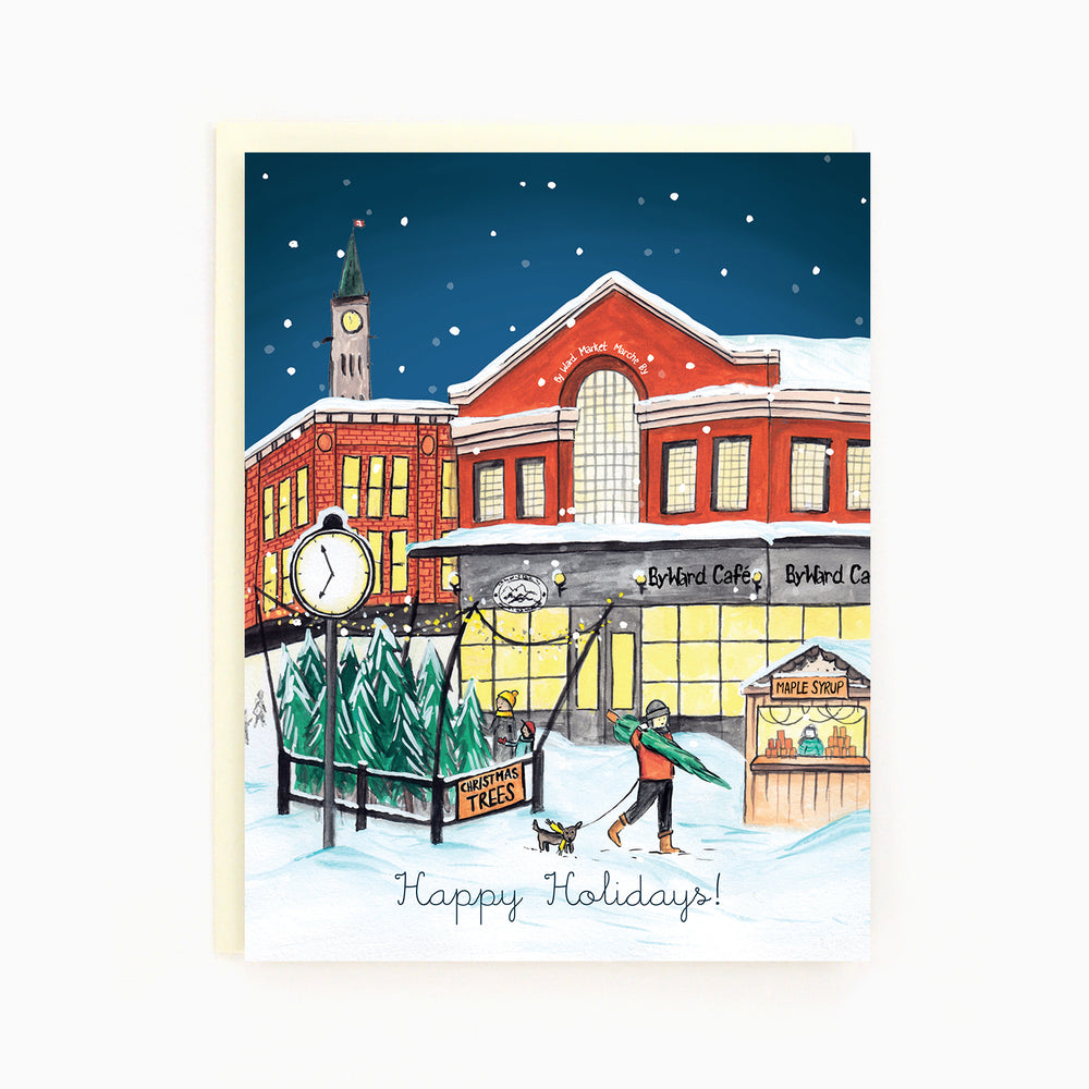 Ottawa Byward Market Holiday Card