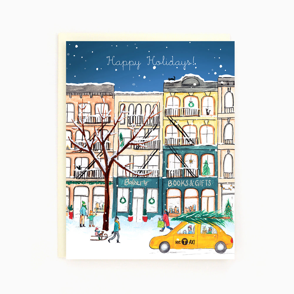 NYC Cast Iron Buildings Card