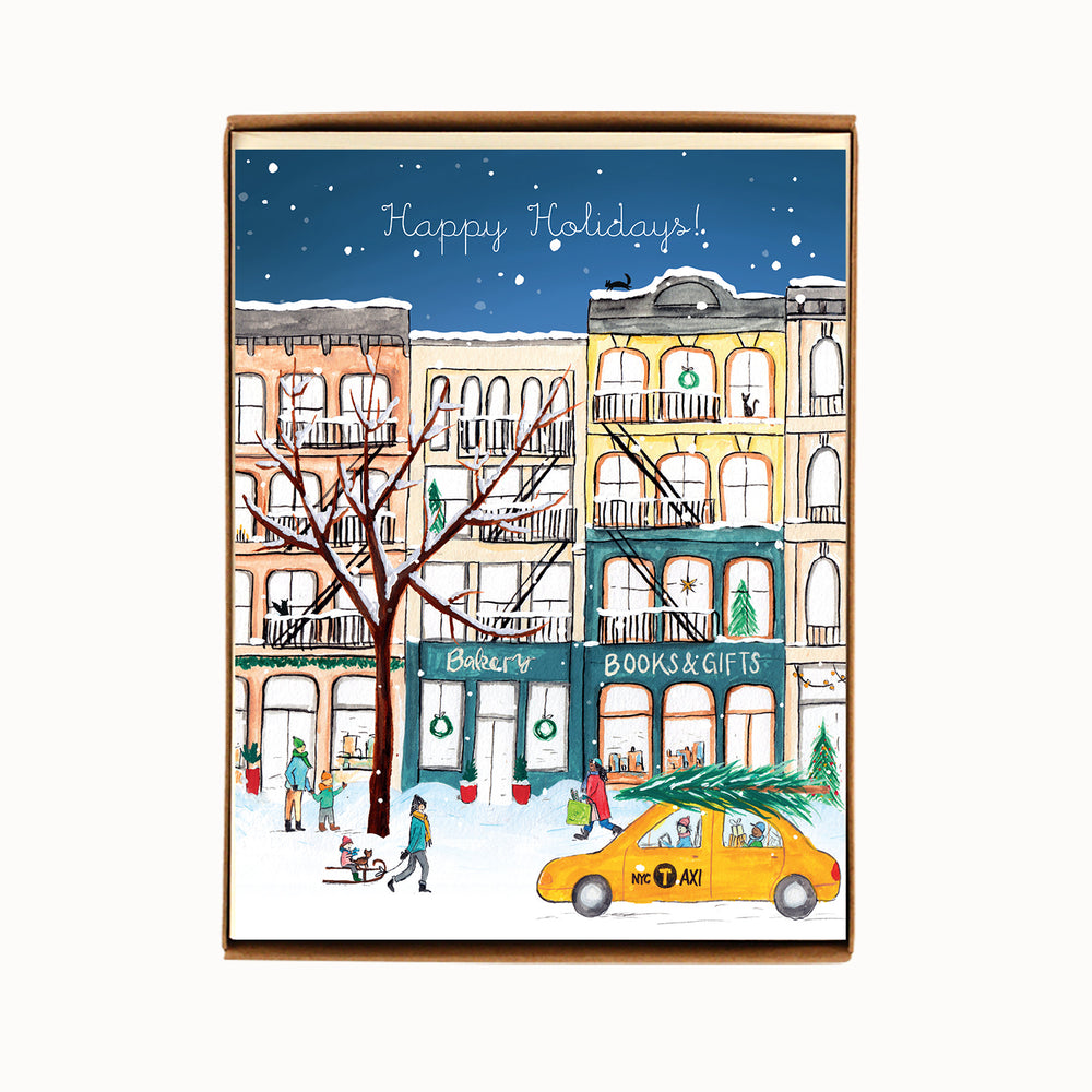 Box of 8 NYC Cast Iron Buildings Cards