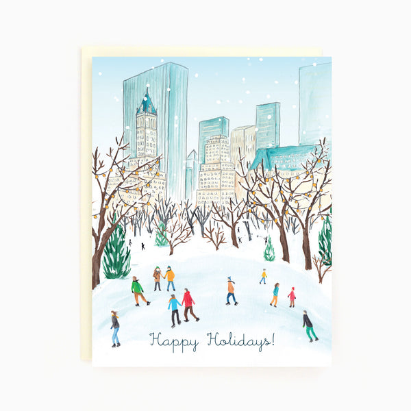 NYC Central Park Winter Card