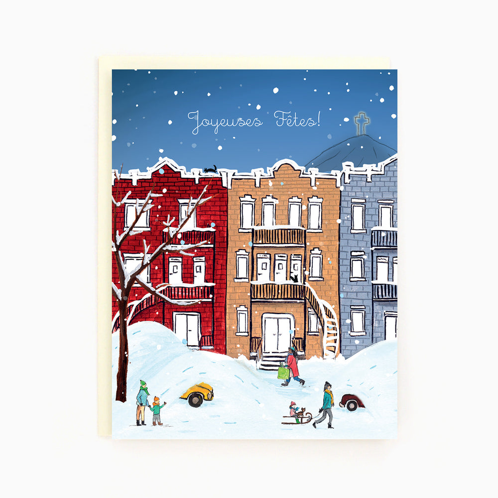 Montreal Holiday Card
