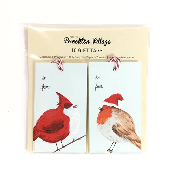Gift Tags - Winter Birds