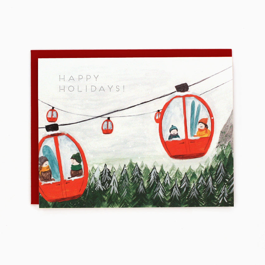Gondola Holiday Card