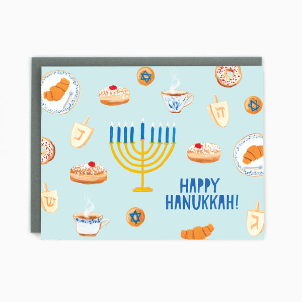 Hanukkah Treats Card