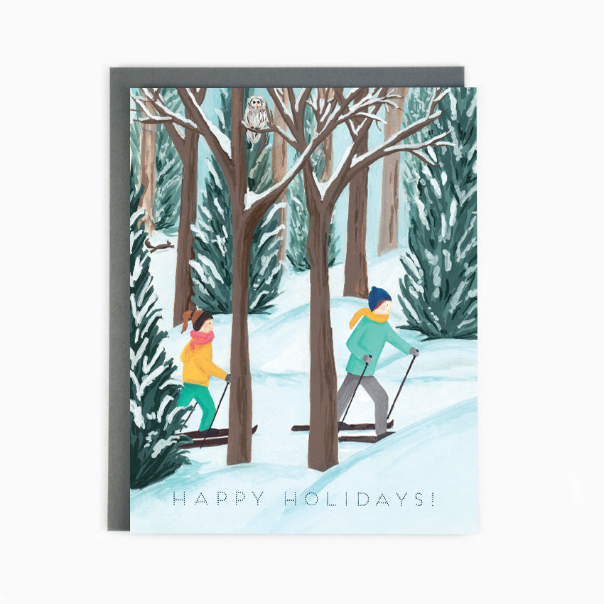 Holiday Cross Country Card