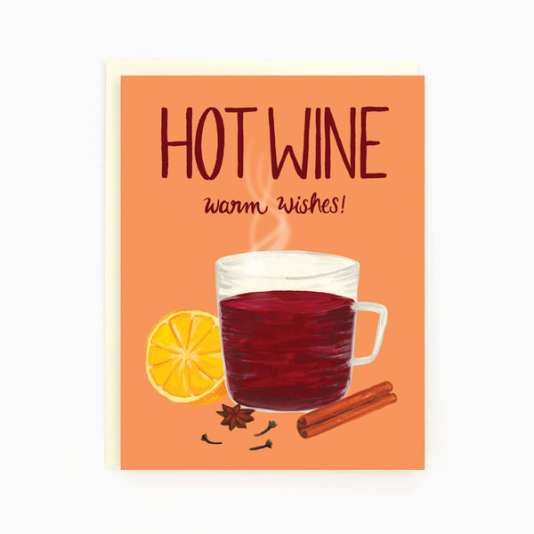 Hot Wine Christmas Card