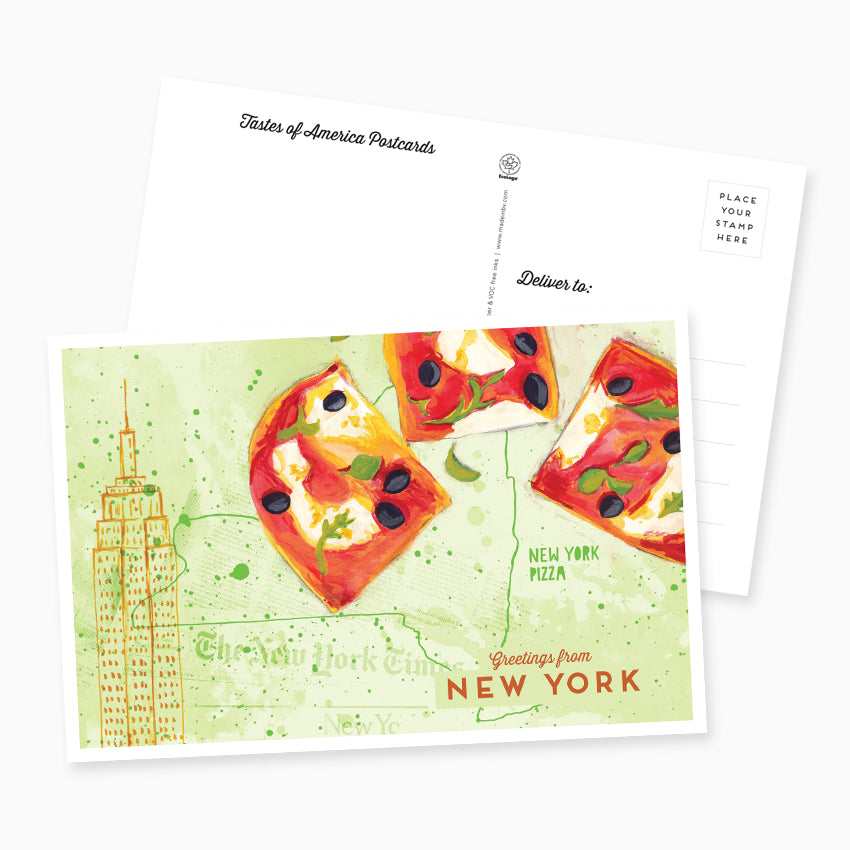 Greetings from new york postcard made in brockton village greetings from new york postcard m4hsunfo