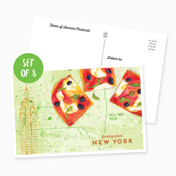 Greetings from New York Postcard - Set of 8