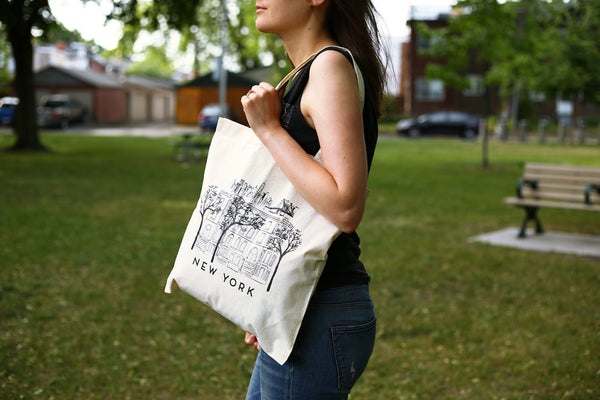 Tote Bag - New York City Skyline