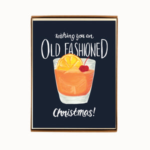 Load image into Gallery viewer, Box of 8 Oldfashioned Christmas Cards