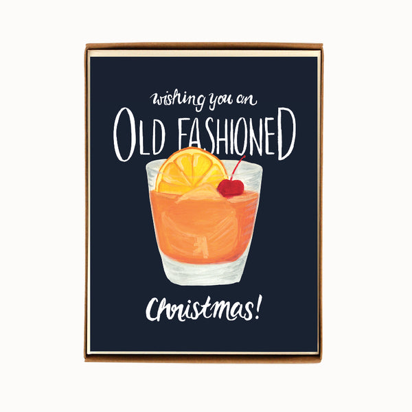 Box of 8 Oldfashioned Christmas Cards