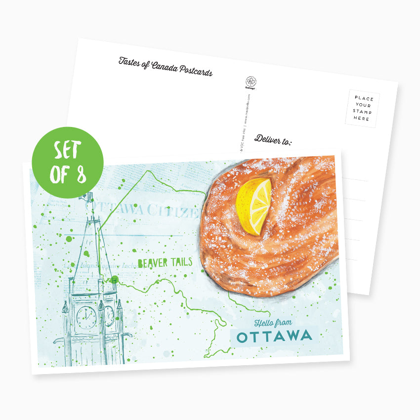 Hello from Ottawa Postcard - Set of 8
