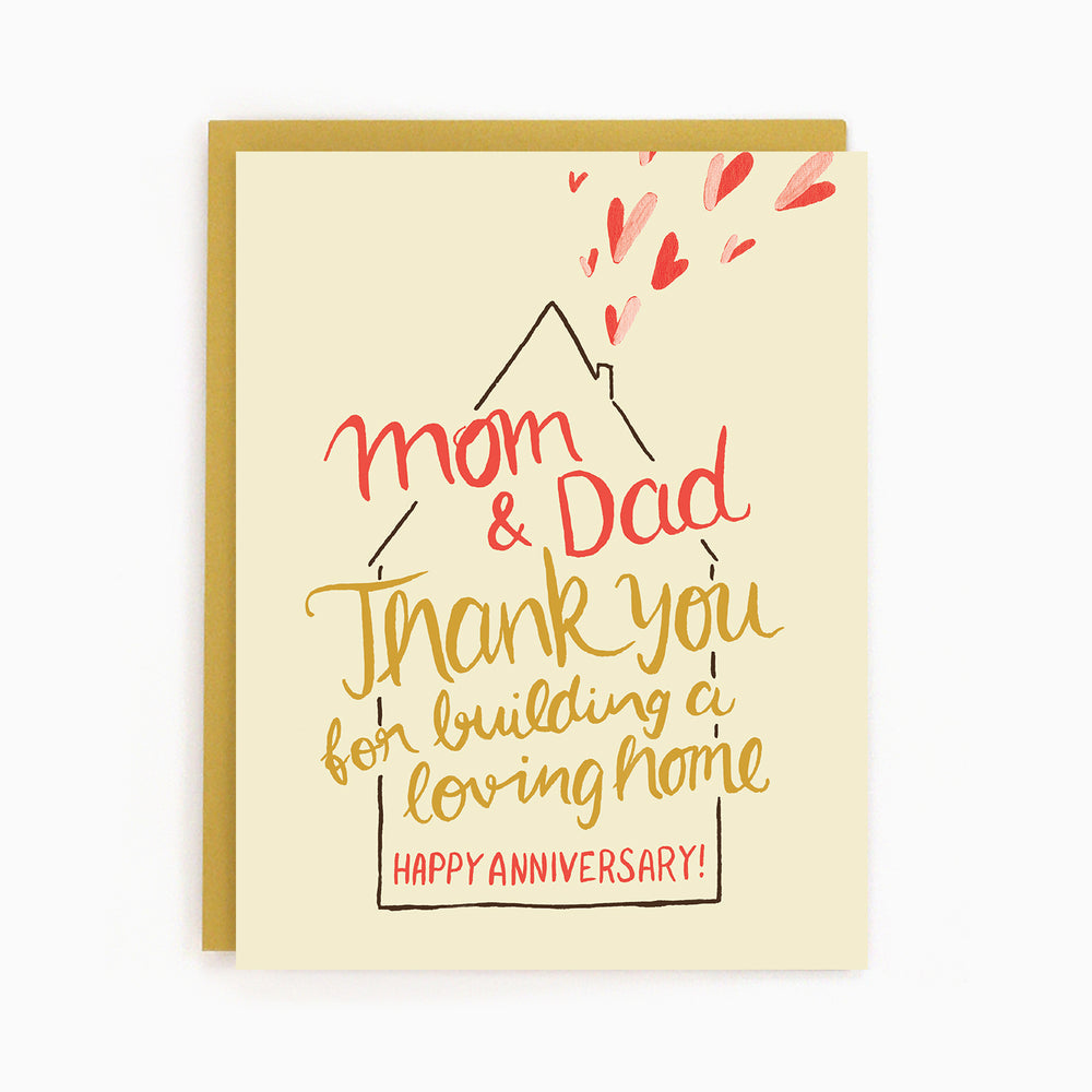 Anniversary Parents Card