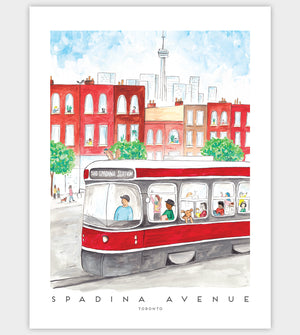 Load image into Gallery viewer, Toronto Streetcar 12x16 inch Woodpanel