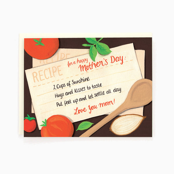 Mom Recipe Card