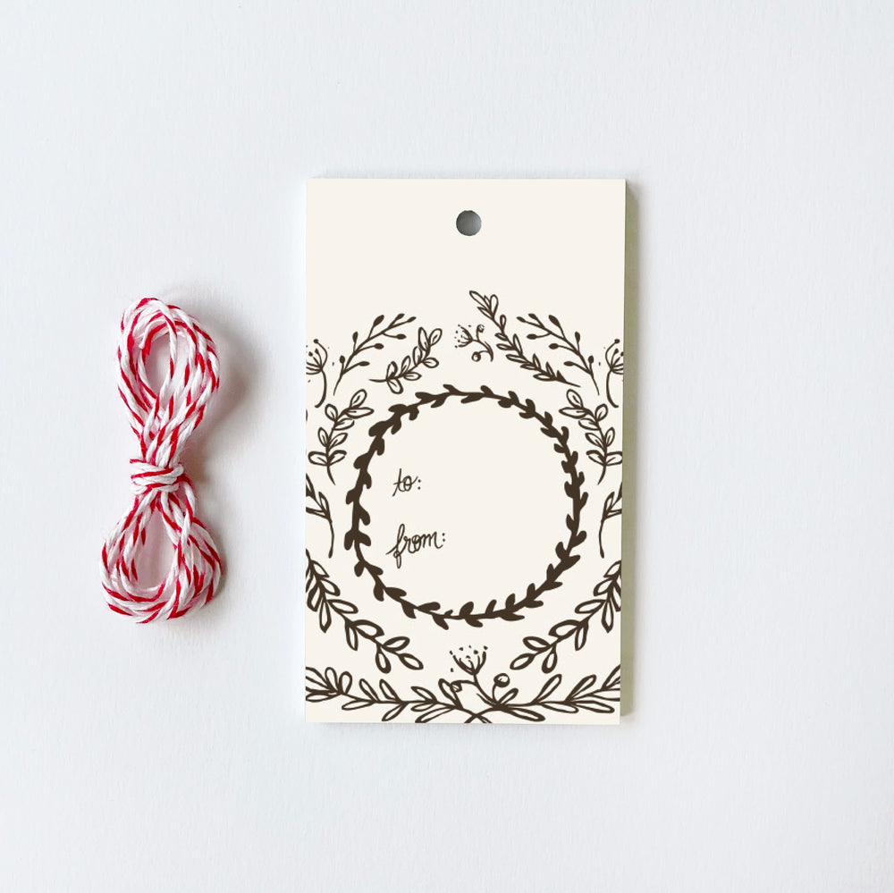 Leaves - 10 Gift Tags