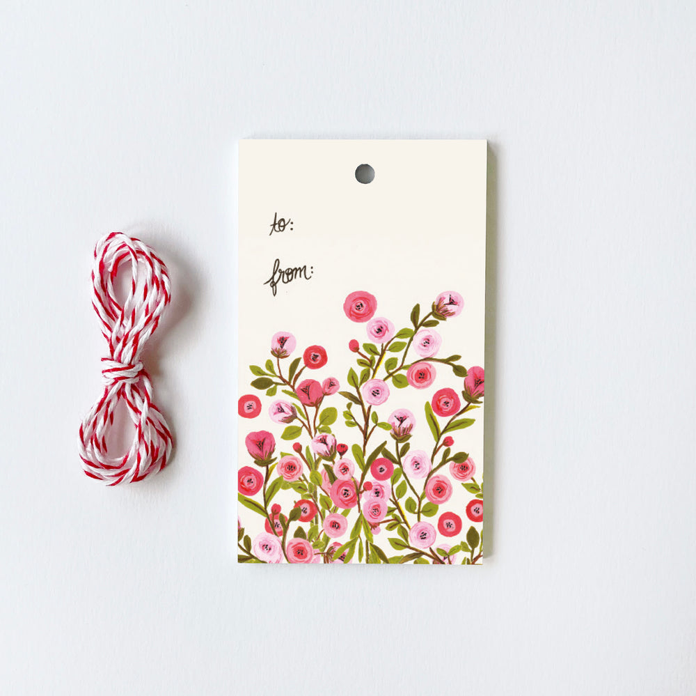 Roses - 10 Gift Tags