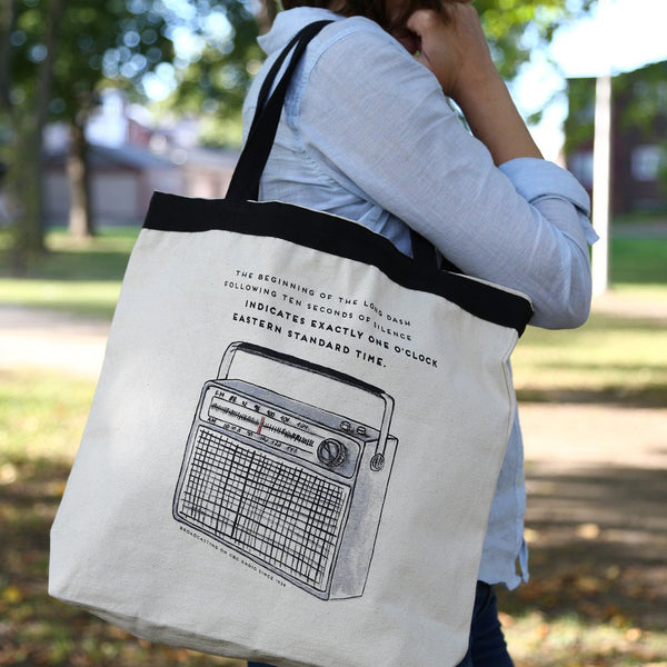 Large Tote Bag - CBC Radio Time Signal
