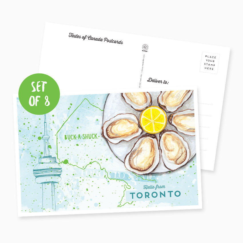 Hello from Toronto Postcard - Set of 8