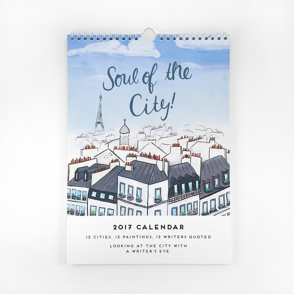 Soul of the City - 2017 Wall Calendar