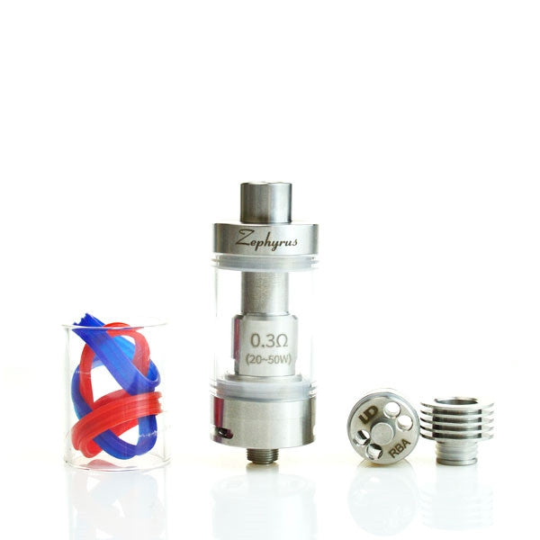 UD Zephyrus Sub-Ohm Dual Coil Tank (The Premier Rebuildable Deck In Sub-Ohm Tanks)