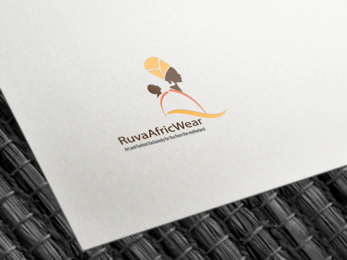 RuvaAfricWear Logo creation