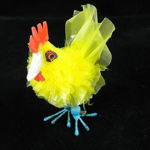 Recycled Plastic Yellow Baby Chicken Handmade and Fair Trade