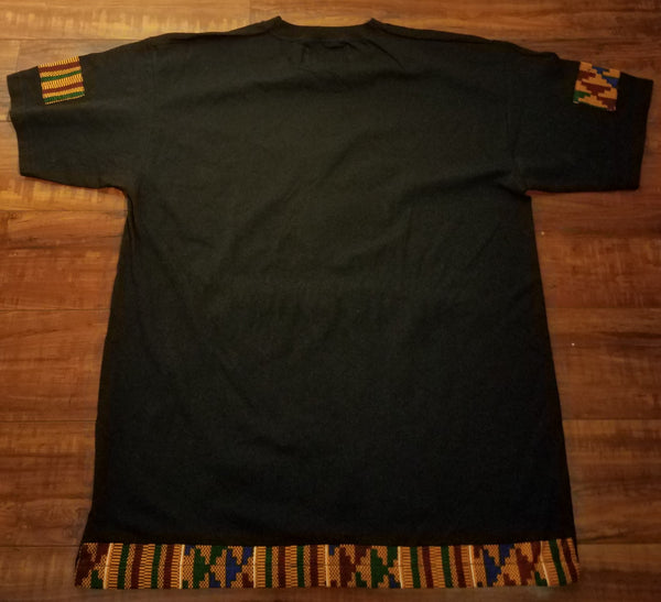Motherland Leather & Kente Unisex T-shirt