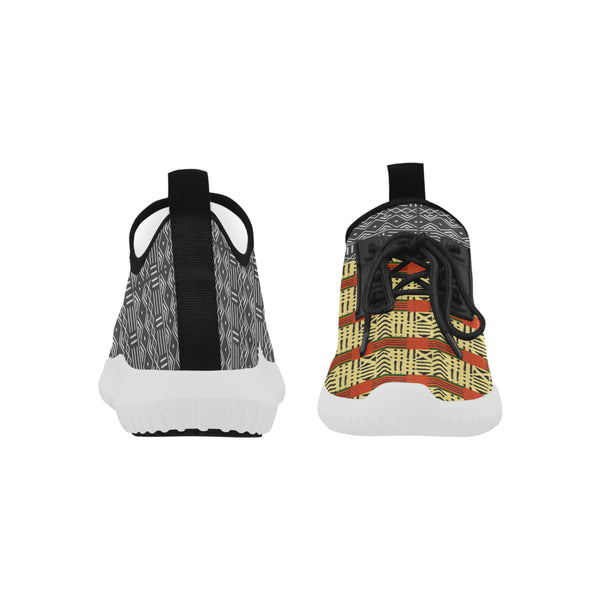 Women's Mud Cloth and Kente Fusion Light Running Shoes