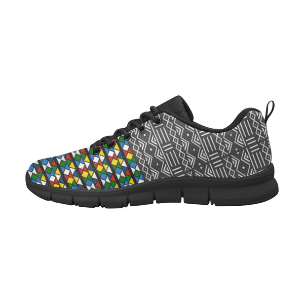 Zulu & Mud Cloth Women's Breathable Running Shoes