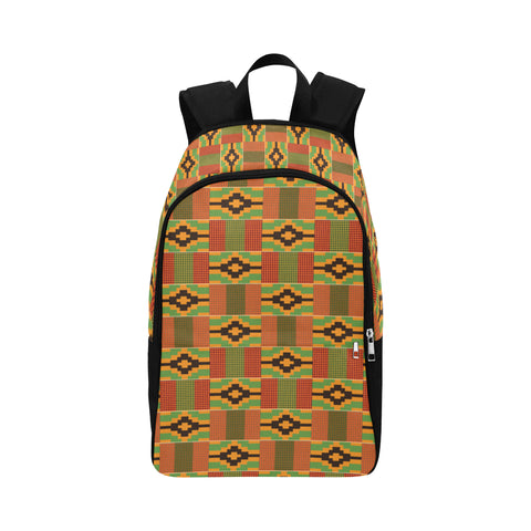 Kente Print Backpack