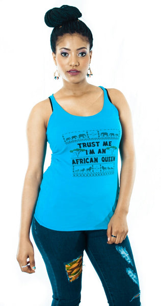 Trust Me I'm An African Queen Women's tank top