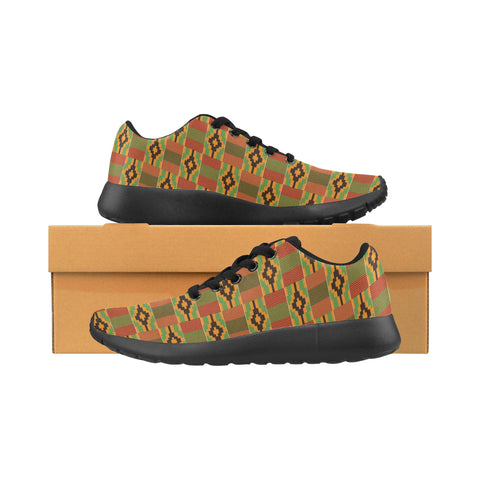 Women's Kente Print Running Shoes